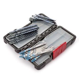 Bosch Basic Jigsaw Blades x 30 for Wood and Metal in Tough Box