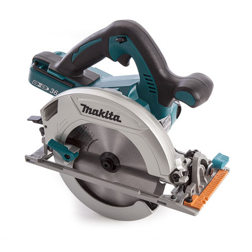 Makita DHS710ZJ 36V Cordless Circular Saw (3 x 3.0Ah Batteries) Accepts 2 x 18V Batteries