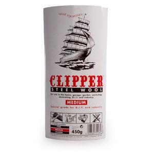 Clipper ABWW2 Steel Wool Medium Grade 450g