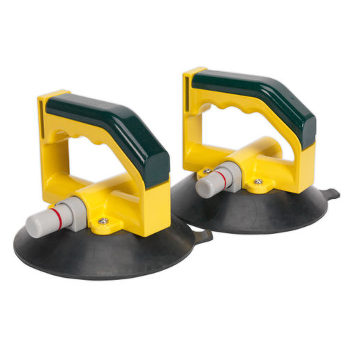 Sealey AK98943 Vacuum Suction Cup 150mm - Pair