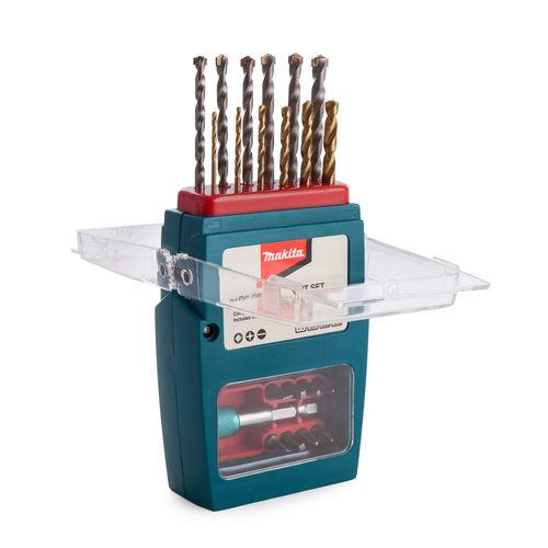 Makita P-57087 Drill & Bit Set in Case (21 Piece)