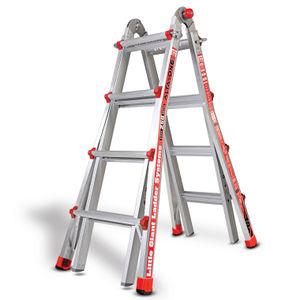 Little Giant 1303-501 Alta One Aluminium Multi-Purpose Ladder 4 Tread