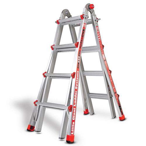 Little Giant 1303-501 Alta One Aluminium Multi-Purpose Ladder 4 Tread