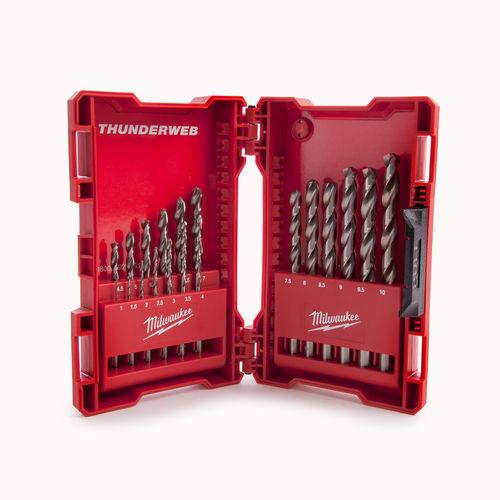 Milwaukee 4932352374 Metal Drill Bit HSSG Set (19 Piece)