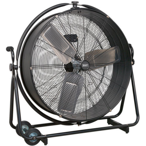 "Sealey HVF30S Industrial High Velocity Orbital Drum Fan 30"" 240V"