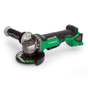 Hitachi G 18DBAL Angle Grinder 18V Cordless Brushless 115mm (Body Only)
