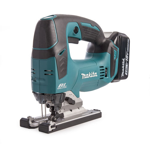 Makita DJV182 18V Jigsaw with DC18RC Charger in Makpac Case (2 x 3.0Ah Batteries)