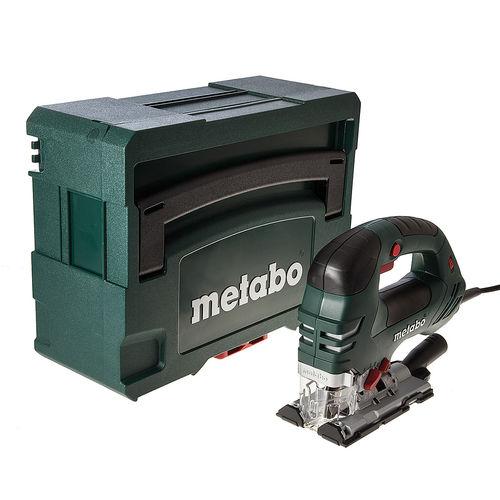 Metabo STEB 140 Plus Orbital Jigsaw 750W Bow Handle + MetaLoc II Carry Case 110V