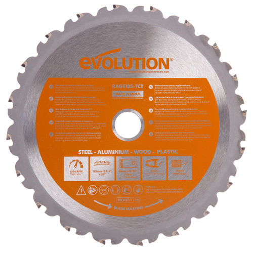Evolution B185 Cutting TCT Blade 185mm
