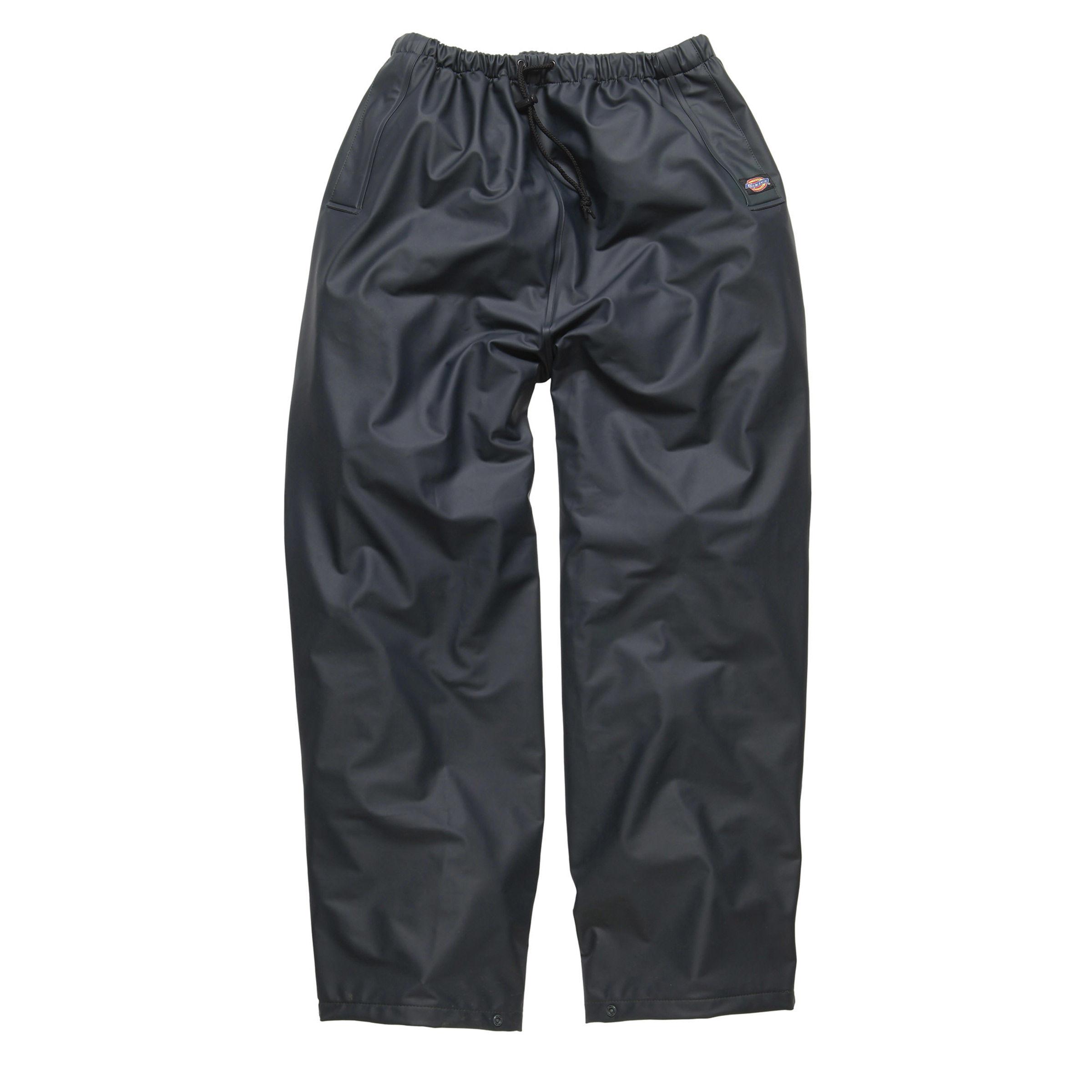 cheap price best selection of 2019 famous designer brand Dickies WP51000 Raintite Waterproof Trousers (Navy) - XXXL