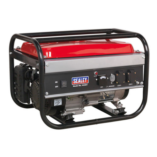 Sealey G2201 Generator 2200W 240V 6.5hp