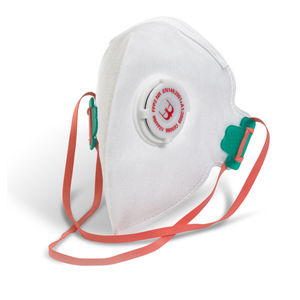 Beeswift BS035 Fold Flat Valved Respirator FFP2 (Pack of 5)