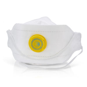 Beeswift BS036 Fold Flat Valved Respirator FFP3 (Pack of 3)