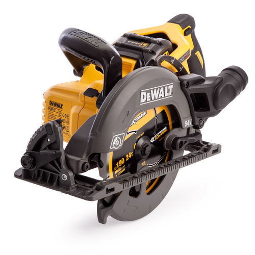 Dewalt DCS577T2 54V XR Flexvolt 190mm High Torque Circular Saw (2 x 6.0Ah Batteries)