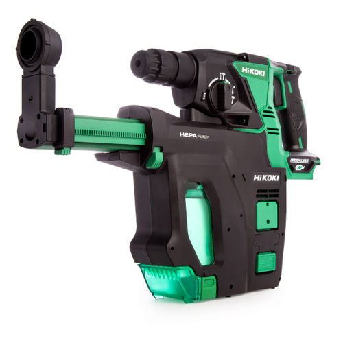 HiKOKI DH 36DPB 36V Multi-Volt Brushless Rotary Hammer SDS+ (Body Only)