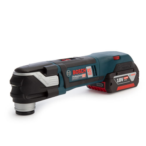 Bosch GOP 18V-28 Professional Cordless Multi Cutter (2 x 5.0Ah Batteries)