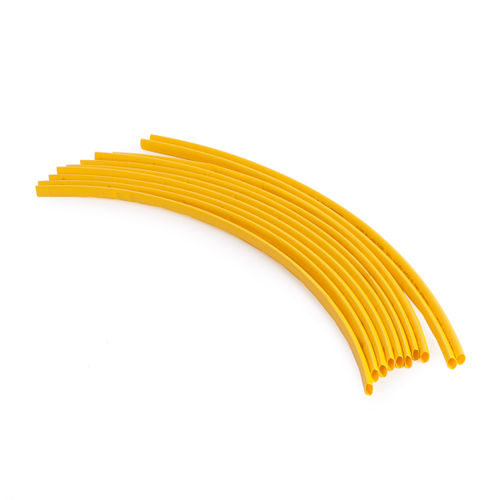 BlueSpot 40514 Yellow Heat Shrink Tubing 300mm (10 Piece)