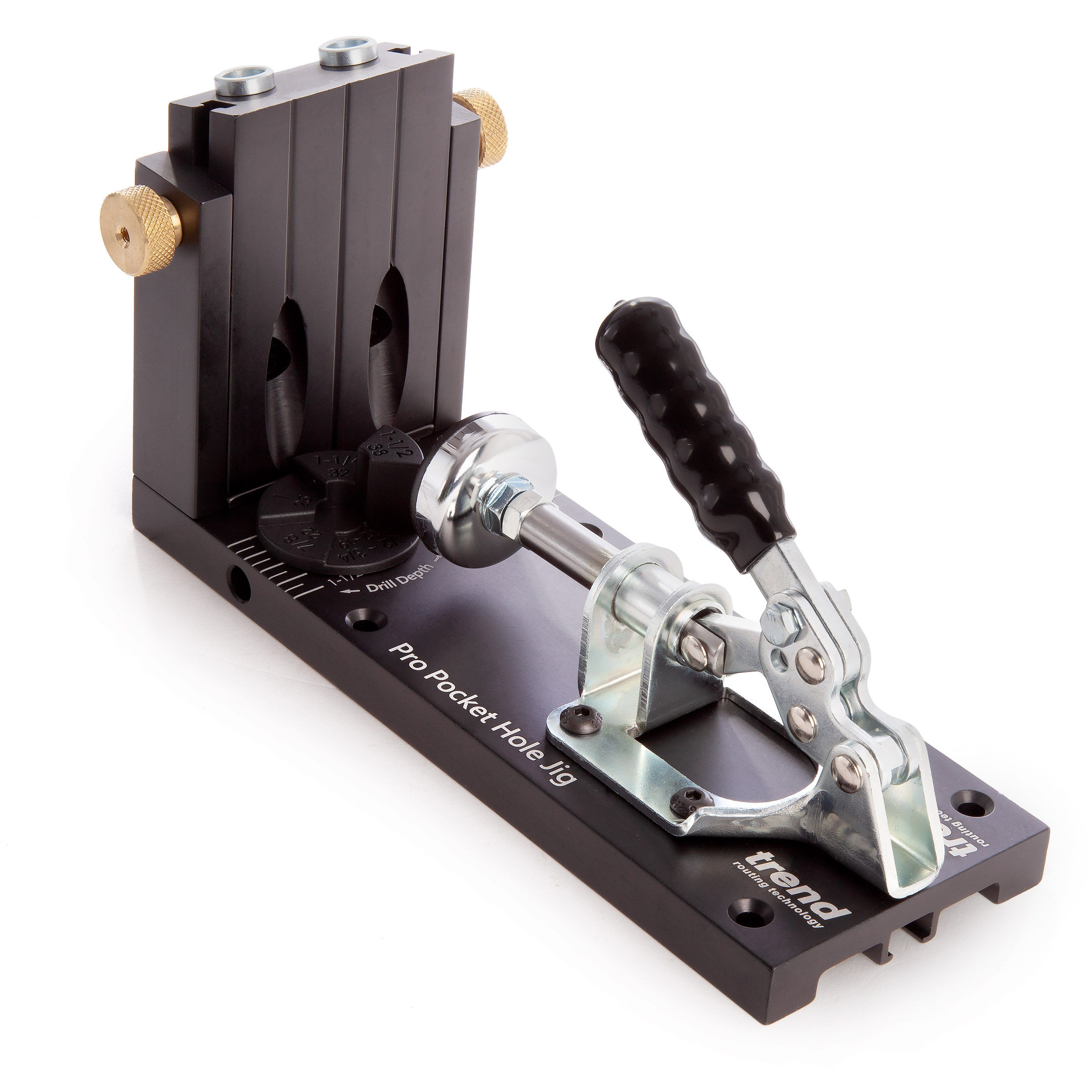 Trend PH/JIG/AK Pro Pocket Hole Jig for Timber and Plywood (12 7mm - 38mm)