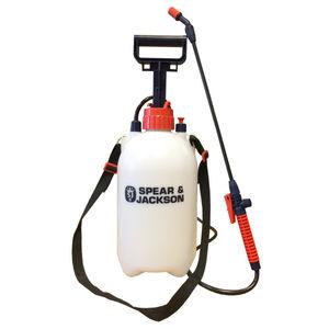 Spear & Jackson 5LPAPS 5 Litre Pump Action Pressure Sprayer