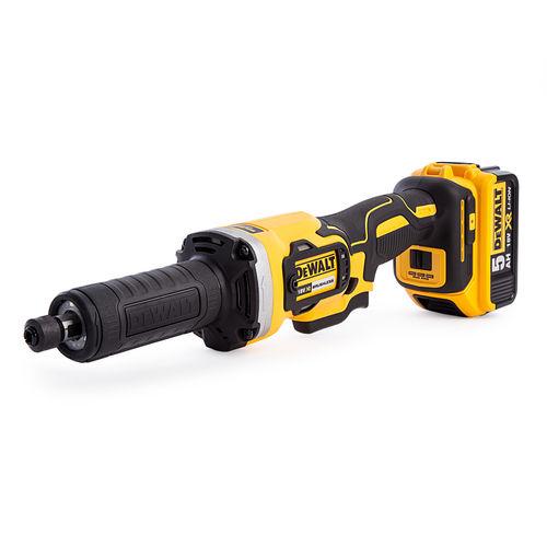 Dewalt DCG426P2 18V XR Brushless 125mm Die Grinder (2 x 5.0Ah Batteries)