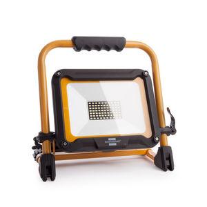 Brennenstuhl 1171253530 Mobile LED Light JARO 5003 CM, 4540Lm, 50W, IP65, 110V