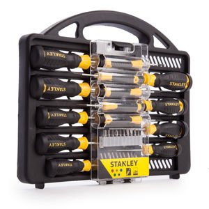 Stanley STHT0-62141 Screwdriver Set with Bits 34 Piece