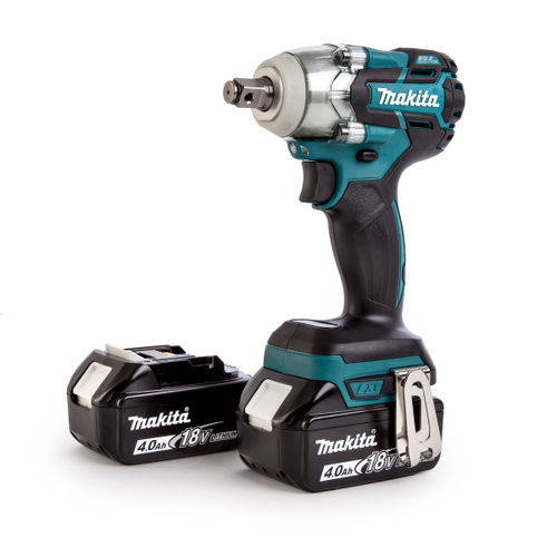 Makita DTW281RMJ 18V Cordless Impact Wrench (2 x 4.0Ah Batteries)