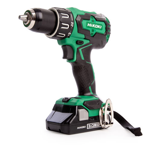HiKOKI DV18DBFL2 18V Brushless Combi Drill (2 x 3.0Ah Batteries)