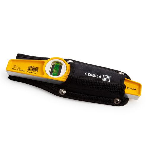 Stabila 02501 81S-10HL Spirit Level & Holster 250mm