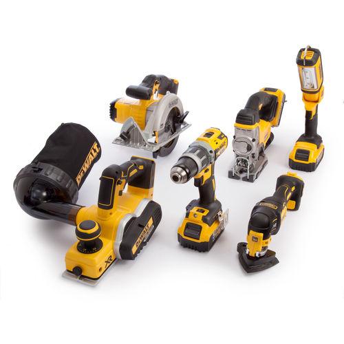 Dewalt DCK665P3T 6 Piece Kit 18V (3 x 5Ah Batteries), Charger & 2 x Kitboxes