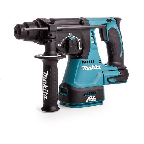 Makita DHR242Z 18V Cordless li-ion SDS Plus Brushless 3 Mode Rotary Hammer Drill 24mm (Body Only)