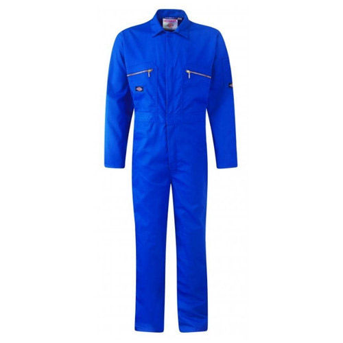 "Dickies WD4839 Front Zip Redhawk Coverall - Royal Blue 46"" Long"