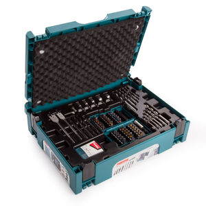 Makita B-49638 Drill and Bit Set in Makpac Connector Case Type 1 - 69 Piece
