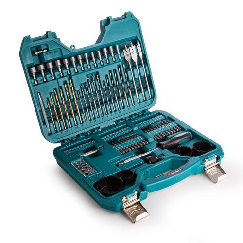 Makita P-90249 100 Piece Power Drill Accessory Set