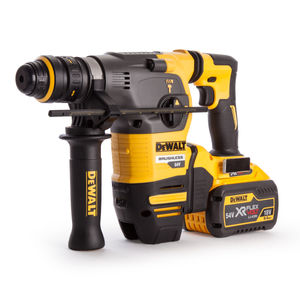 Dewalt DCH334X2 54V FLEXVOLT SDS Hammer with QCC + TSTAK 2 x 9Ah Batts