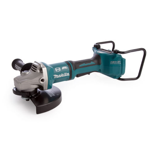 Makita DGA901ZUX2 36V Brushless Angle Grinder 230mm LXT (Body Only) Accepts 2x 18V Batteries