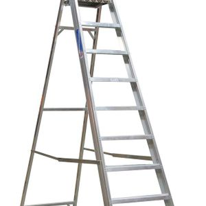 Sealey AXL10 Aluminium Step Ladder 10-tread Industrial Bs 2037/1
