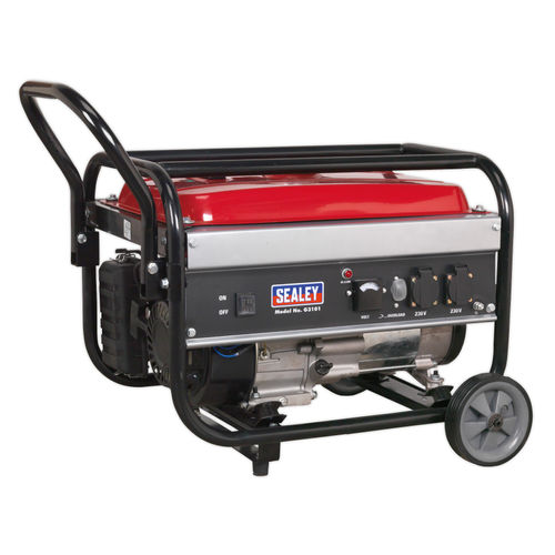 Sealey G3101 Generator 3100W 240V 7hp
