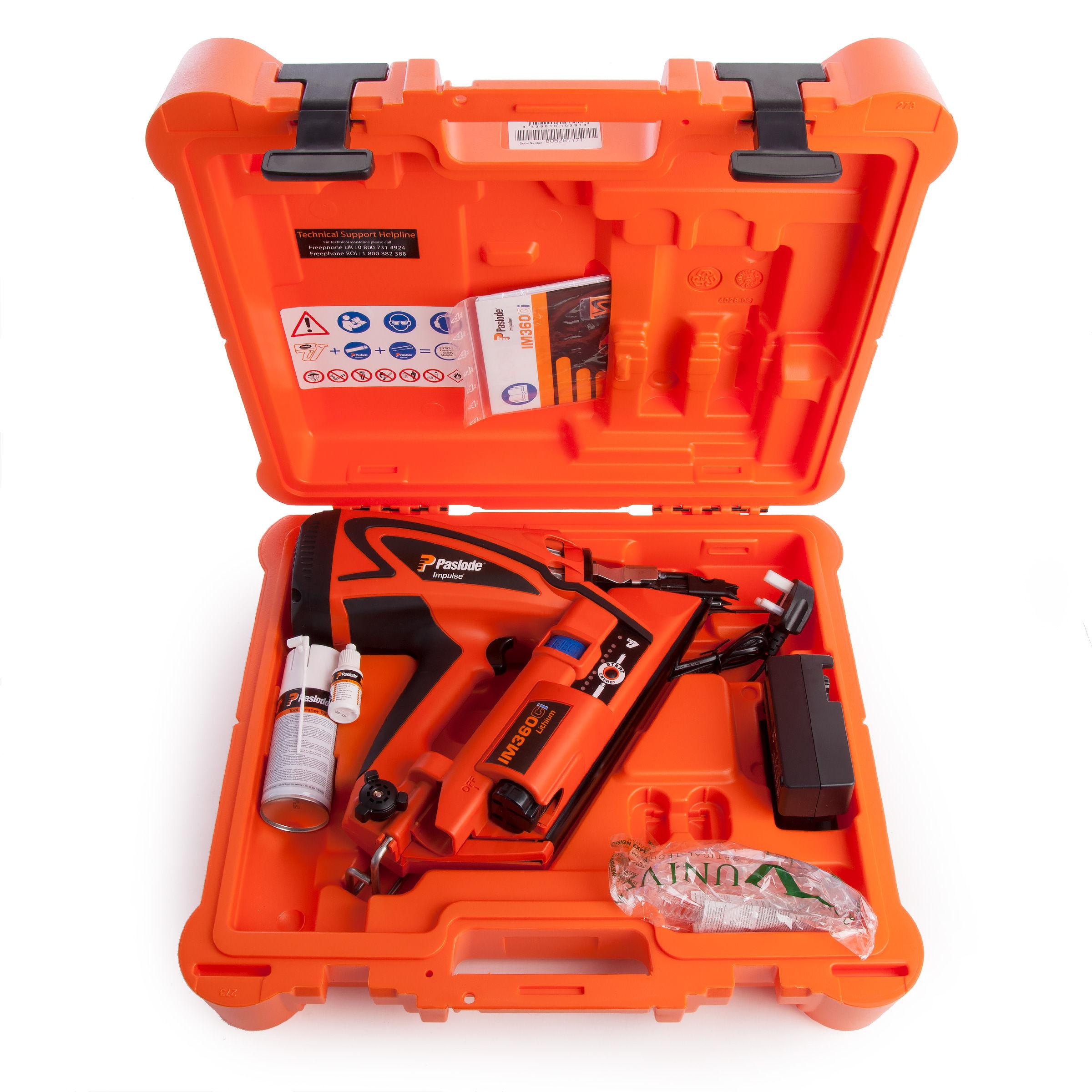 Toolstop Paslode Im360ci Cordless 7 2v 1st Fix Gas Framing