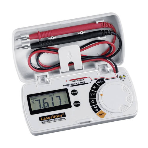Laserliner 083.028A MultiMeter-PocketBox