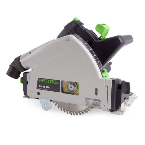 Festool 575688 18/36V Plunge Cut Saw TSC 55 Li 5,2 REBI-Plus-SCA GB (2 x 5.2Ah Batteries)