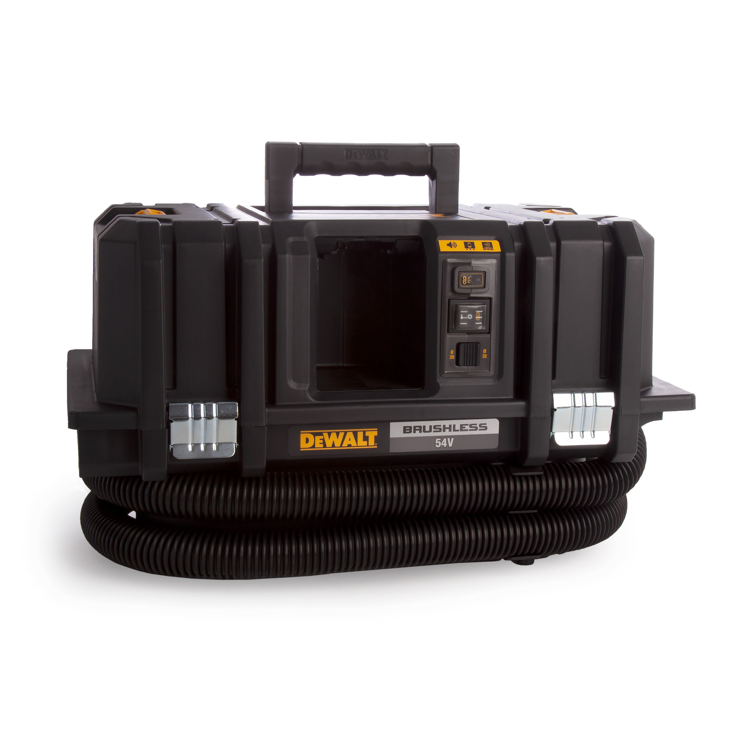 Dewalt Dust Extractor >> Dewalt Dcv586mn 54v Xr Flexvolt M Class Dust Extractor Body Only