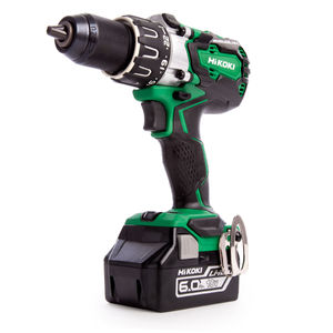 HiKOKI DV18DBXL/JXZ Combi Drill 18V Cordless Brushless (2 x 6.0Ah Batteries)