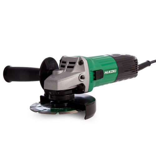 HiKOKI G12STX 115mm Angle Grinder 110V with Diamond Blade