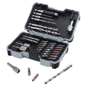 Bosch 2607017327 HSS Drills for Wood / Screwdriver Bit Set 35 Piece