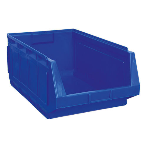 Sealey SSB01B Stackable Storage Bin 370 X 580 X 250mm - Blue Pack Of 4