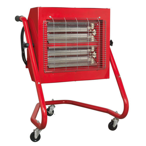 Sealey IRS153 Infrared Heater 1.5/3.0kw 240V