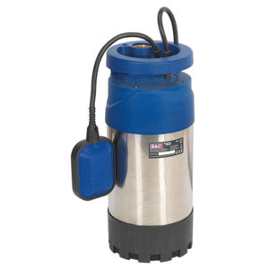 Sealey WPS92A Submersible Stainless Water Pump Automatic 92ltr/min 40mtr Head 240V