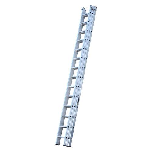 Youngman 570124 Trade 200 3 Section Aluminium Extension Ladder 4.24 - 10.62 Metres