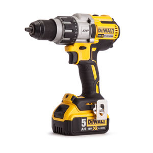 Dewalt DCD991P2 18V Cordless XR 3 Speed Brushless Drill Driver (2 x 5Ah Batteries) in TStak